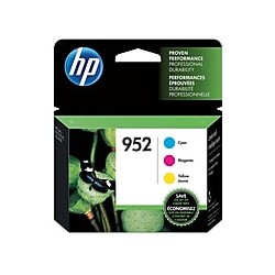 HP 952 CMY Ink Cartridges,...