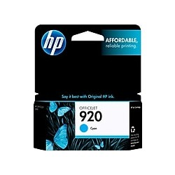 HP 920 Cyan Original Ink...