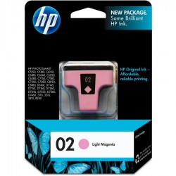 HP 02 Light Magenta...