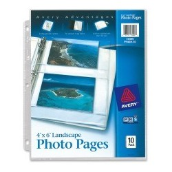 Avery Horizontal Photo Pages