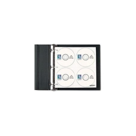 C-line CD/DVD Ring Binder Kit