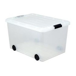 Iris Clear Storage Box with...